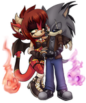 Red and Violet by ScittyKitty