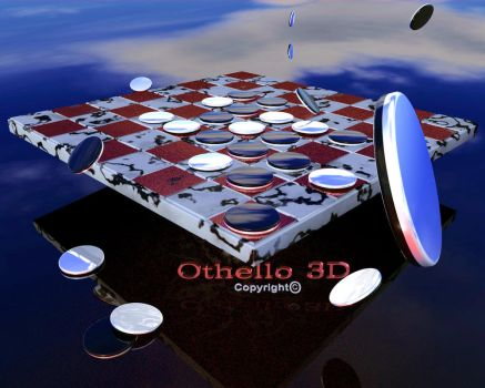 Othello 3D, that's me by Othello-3D