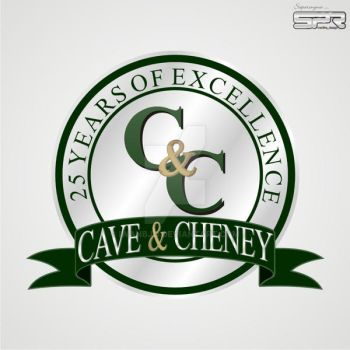 Cave And Cheney 25 Years Anniversary Logo by iwanbjo