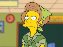 Edna Krabappel - The Simpsons by franck-6