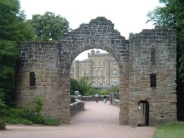 Culzean Castle front gate by teh-dino