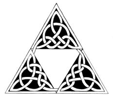 Celtic Triforce by Luckyirishjohn