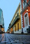 Calle Fortaleza at dusk by E-Davila-Photography