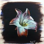 Flower Painting by LindaTorvund