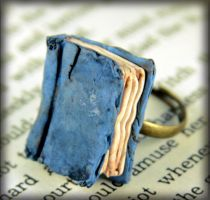 Beloved Book Ring by NeverlandJewelry