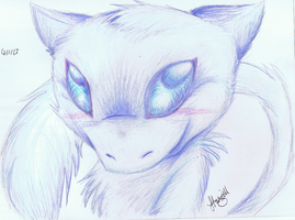 Blue Mew by ConkerTSquirrel