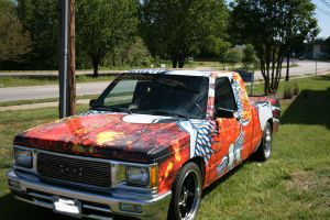 Raggatron vehicle wrap 3 by MattAcustoms
