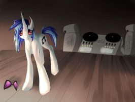 MLP: FiM VINYL SCRATCH/DJ-PON3 by dreampaw