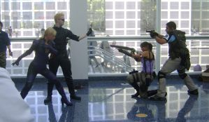 AX 2010-Resident Evil Showdown by MattJeevasLover