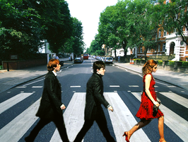 Harry Potter Abbey Road by stalkerofkristen
