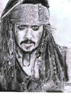 Jack Sparrow by AzibHamidi