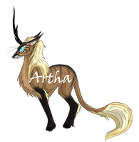 Mountain Kirin Adopt - CLOSED by Artha-Demon