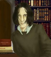young Severus by vimessy
