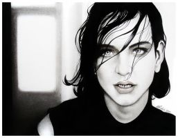 Brian Molko by AliceParkes