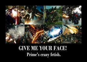 GIVE ME YOUR FACE by Ronnie-R15