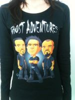 Ghost Adventures T-Shirt by anapeig