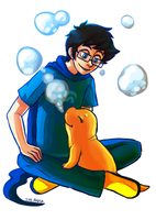 Homestuck Challenge: Day 1 by Atherist