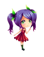 Commission: Chibi Yuko by cNhiansae