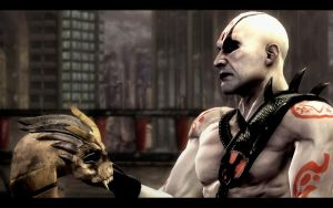 Quan Chi with helmet by MagicLynx