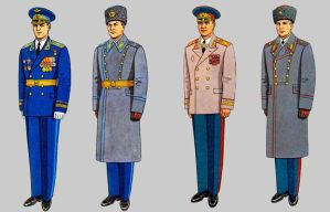 Soviet Army Uniforms 26 by Peterhoff3