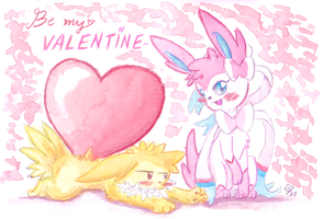 Be my Valentine! by PitchBlackEspresso