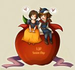Soxion Day:Apple Love by Kiome-Yasha
