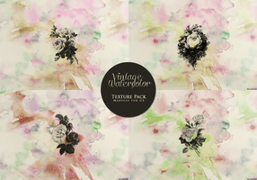 Vintage Watercolor Texture Pack for GE by Marysse93