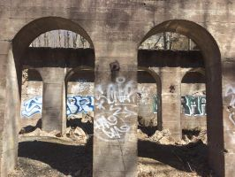 Abandoned Arches by DwDrawings