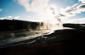 Yellowstone Geyser by Captain-Planet