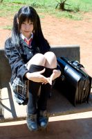 +Photoshoot: School girl 07 by sanodesign
