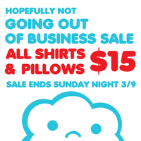 HOPEFULLY NOT GOING OUT OF BUSINESS SALE flier by ilovegravy