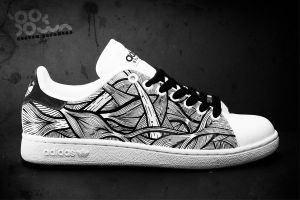 Custom Sneakers 'Muscles' by JohanNordstrom