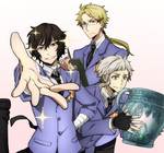 Bungou Stray Dogs x Ouran High School Host Club! by Cioccolatodorima