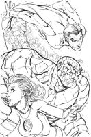 Fantastic Four by RyanStegman
