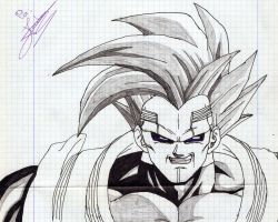 Baby Vegeta by PLATINUMBROLY