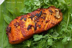 Grilled tumeric fish 2 by patchow