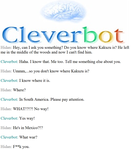 Cleverbot's not very helpful. by xxXDeidaraXxx1235