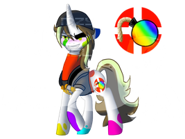 My little TF2: That Colorful Demomare by Chaosaholic