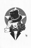 Headshots: Zatanna by wrathofkhan