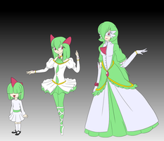 Ralts Girls by rinkunokoisuru