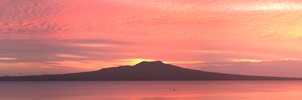 Rangitoto Pano by DougMcGibbon