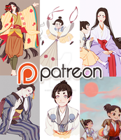 PATREON by EvaBeeSmith