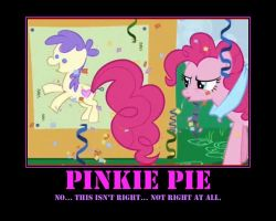 Motivational... Ouch Pinkie? by DarkonShadows