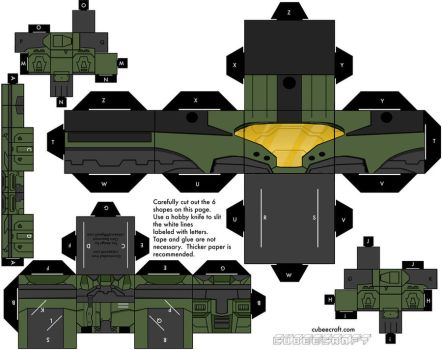 Halo 3 CQB armor by mikeyplater