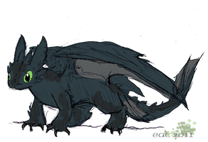 HTTYD-Toothless 5 by rosa-pegasus