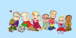 The Big Bang Theory Babies by summergal98