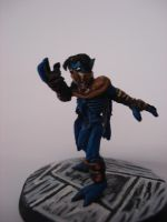 old Raziel conversion mini by steveyoungsculptor