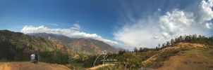 Nepal - Country panorama by MD-Arts