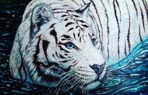 Tiger painting by ricenator