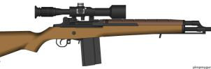 Modified M-21 Sniper by GeneralTate